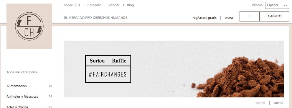 Fairchanges: online fair trade market