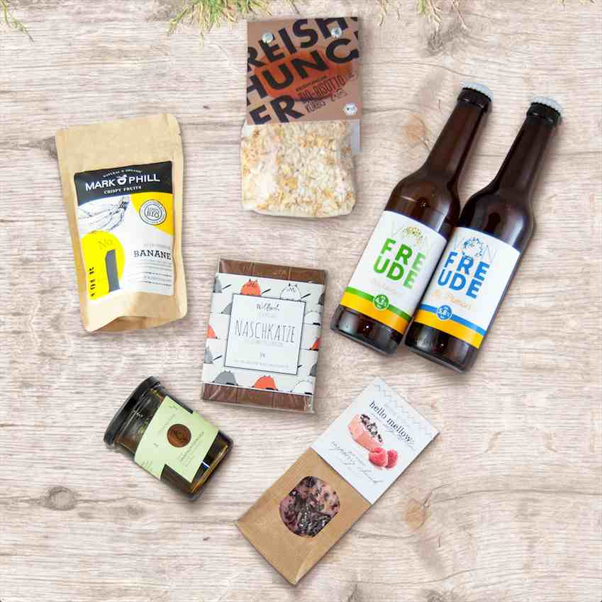 Foodvibes' Foodbox contents