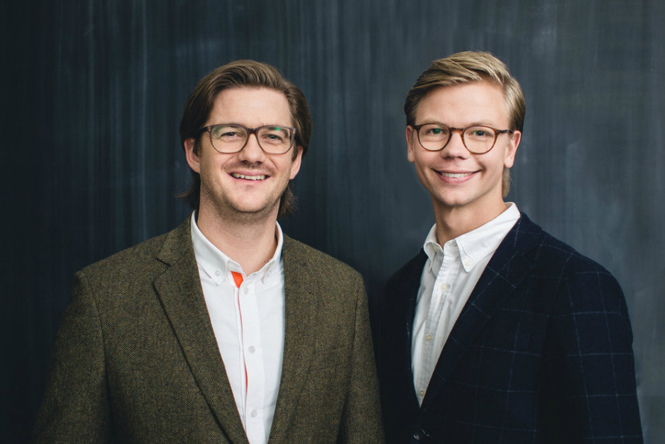 Founders: Steffen Wachenfeld and Christian Tiessen.