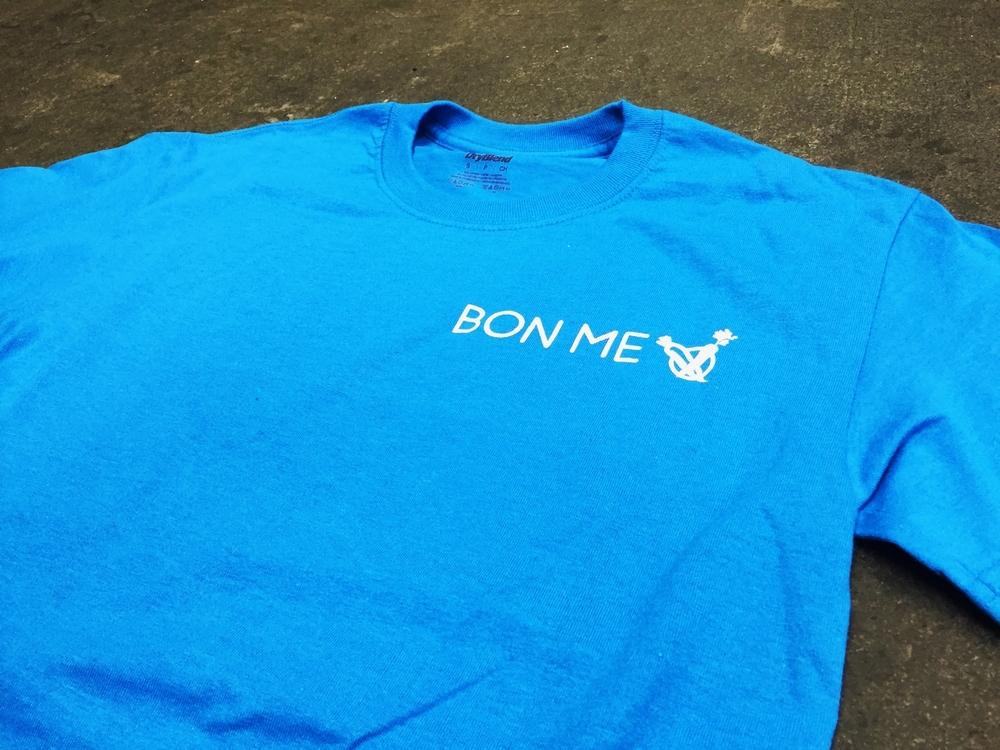 BON ME BLUE SHIRTS - $15