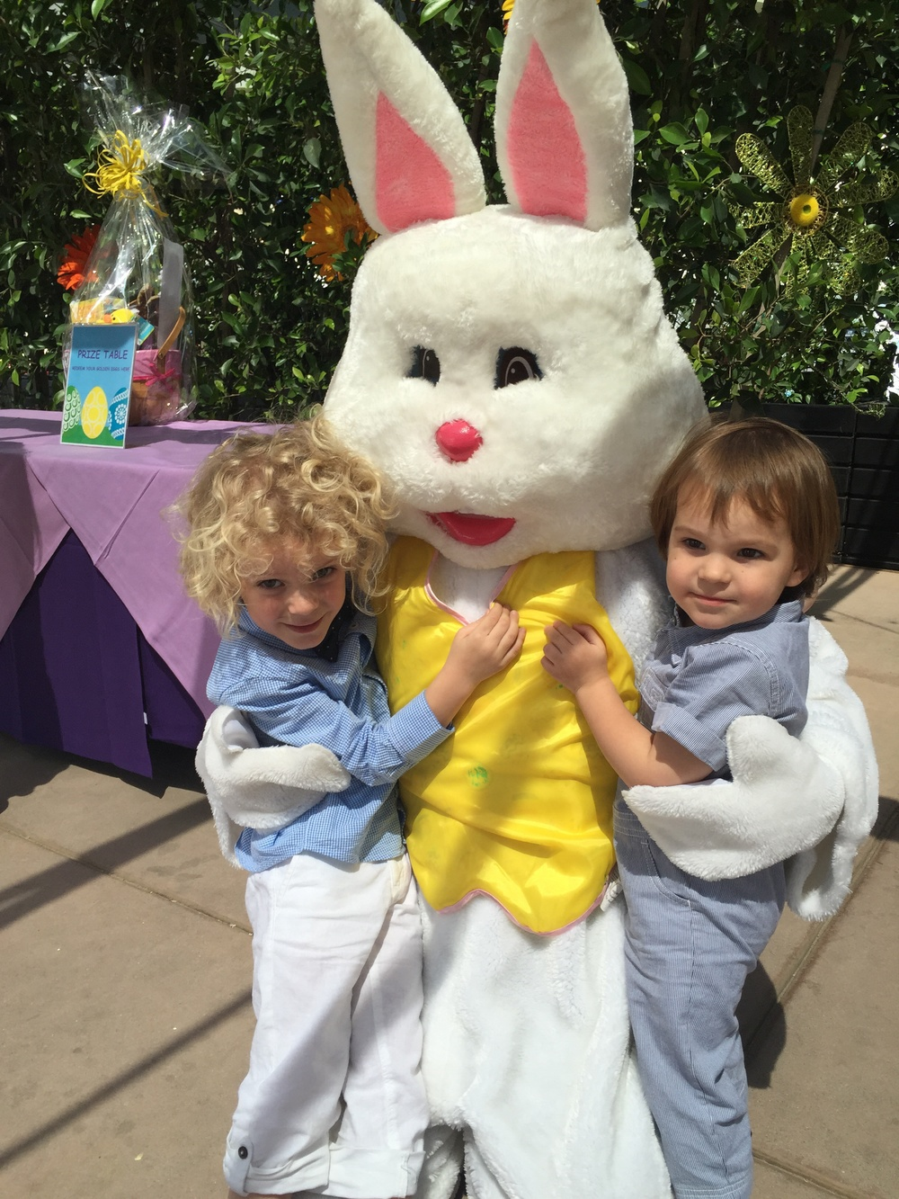 Easter Sunday at Jonathan Club Santa Monica with our Insta-fam