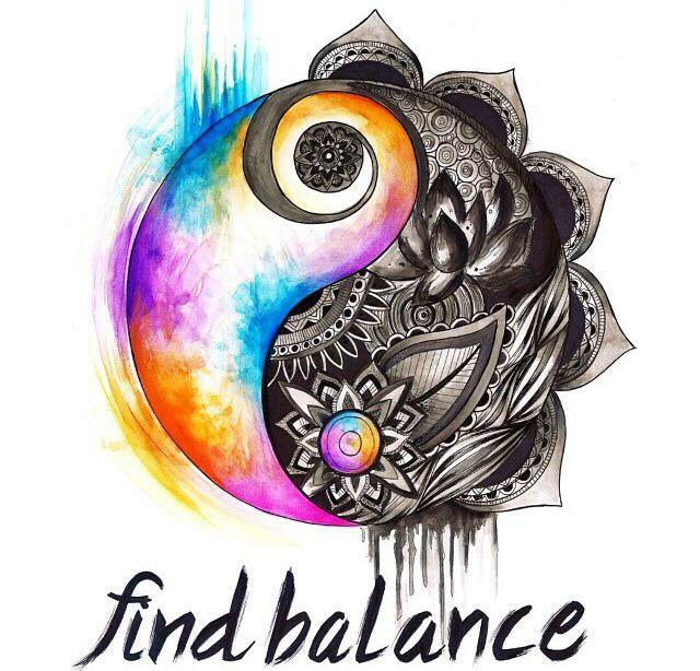 Finding balance can be as simple as taking 30 minutes for yourself to meditate, exercise, or decompress healthily.