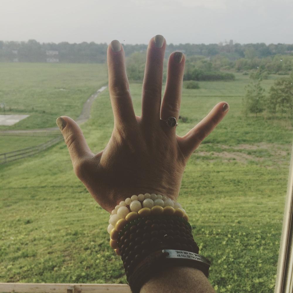 Namaste...love my mala!