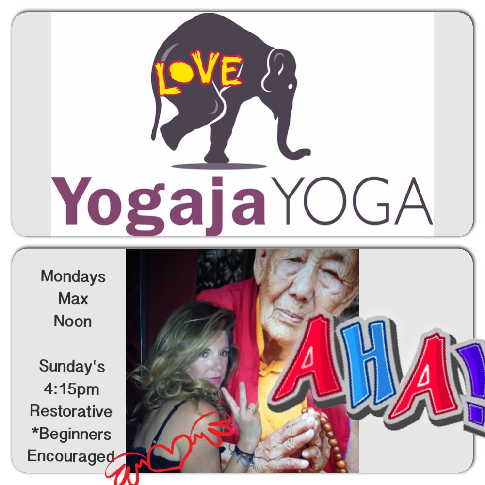 My Yogaja schedule *you can also find me at Ottawa Hills Monday 9am Pilates & Thursday 9am YOGA. Open to public.