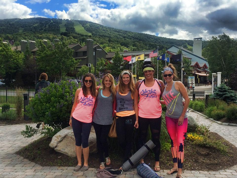 Kimi leads annual trips to Wanderlust VERMONT every year...such fun!