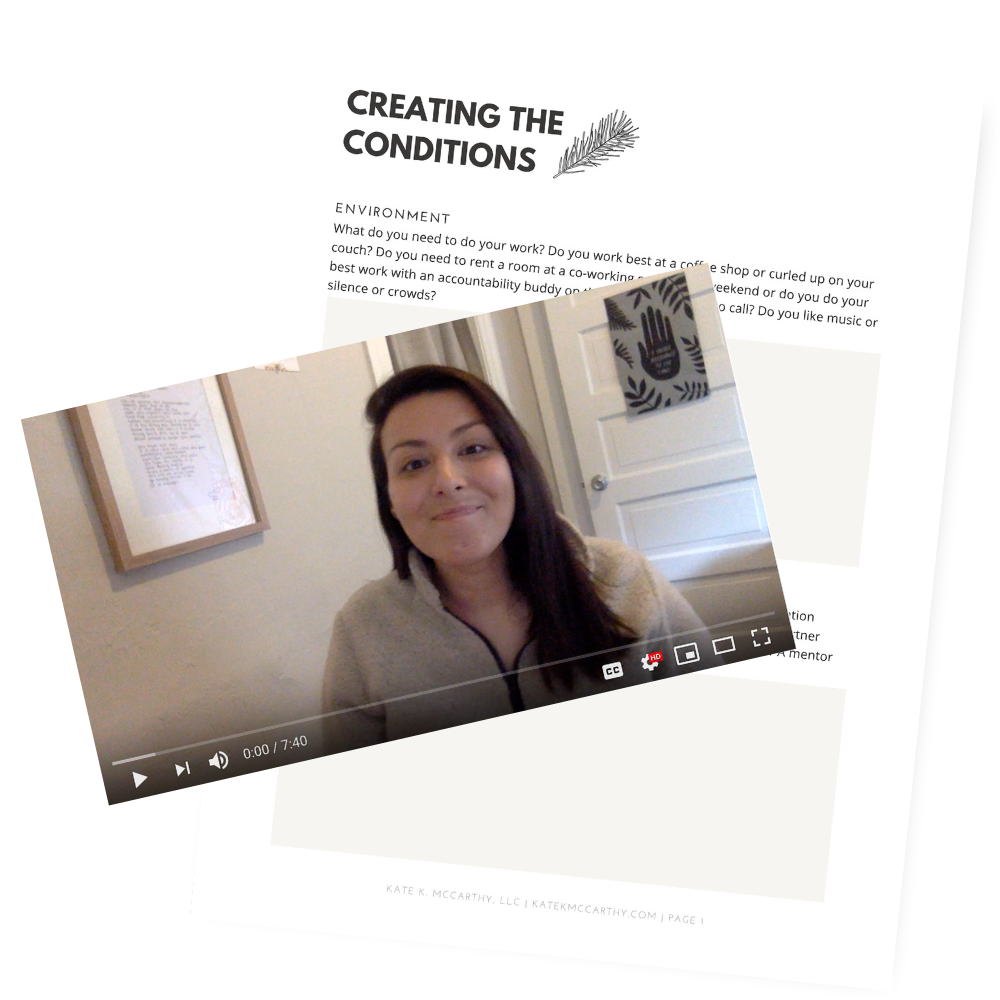 Kate K. McCarthy | Brave Action: Creating The Conditions For Success