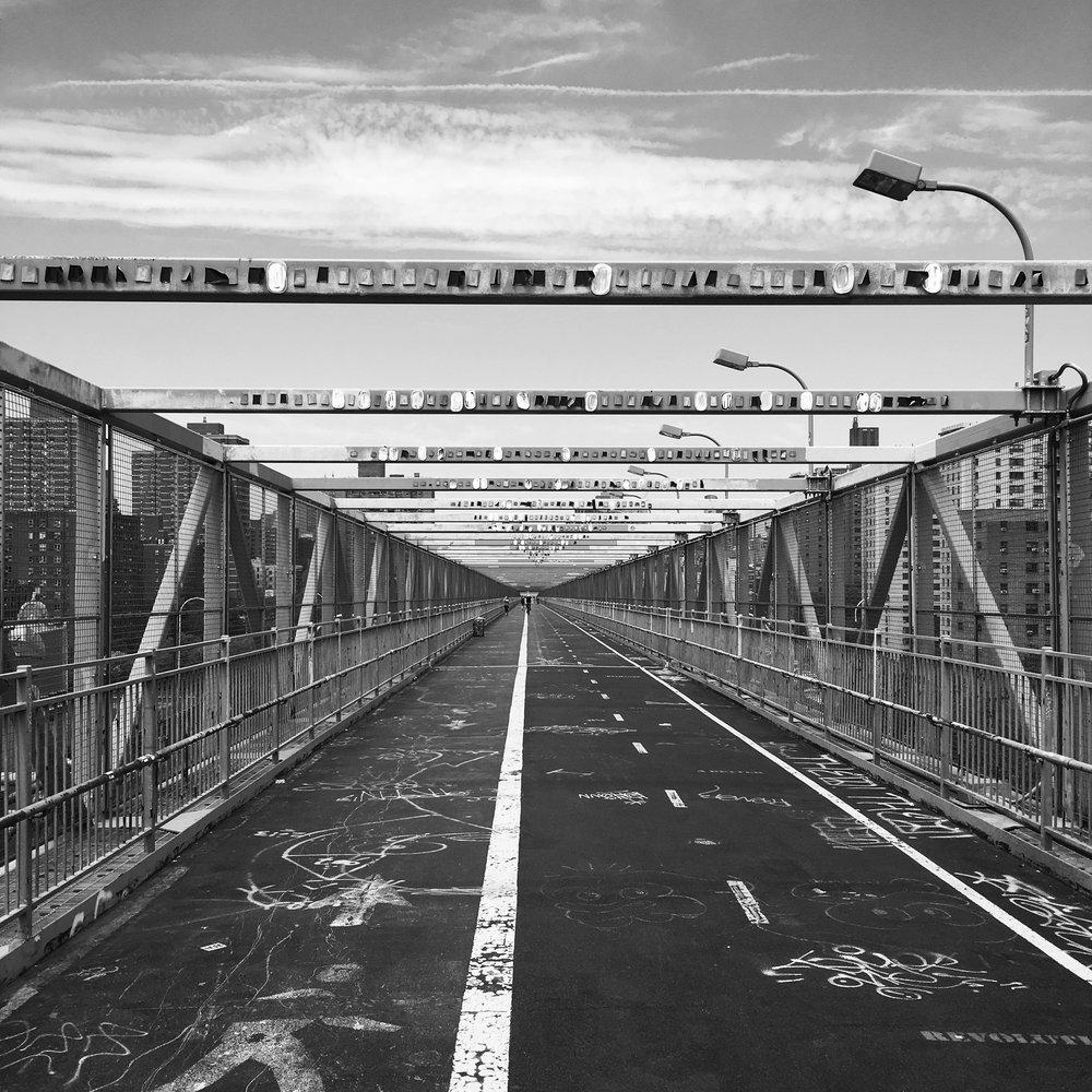 New York City - Williamsburg Bridge - photography