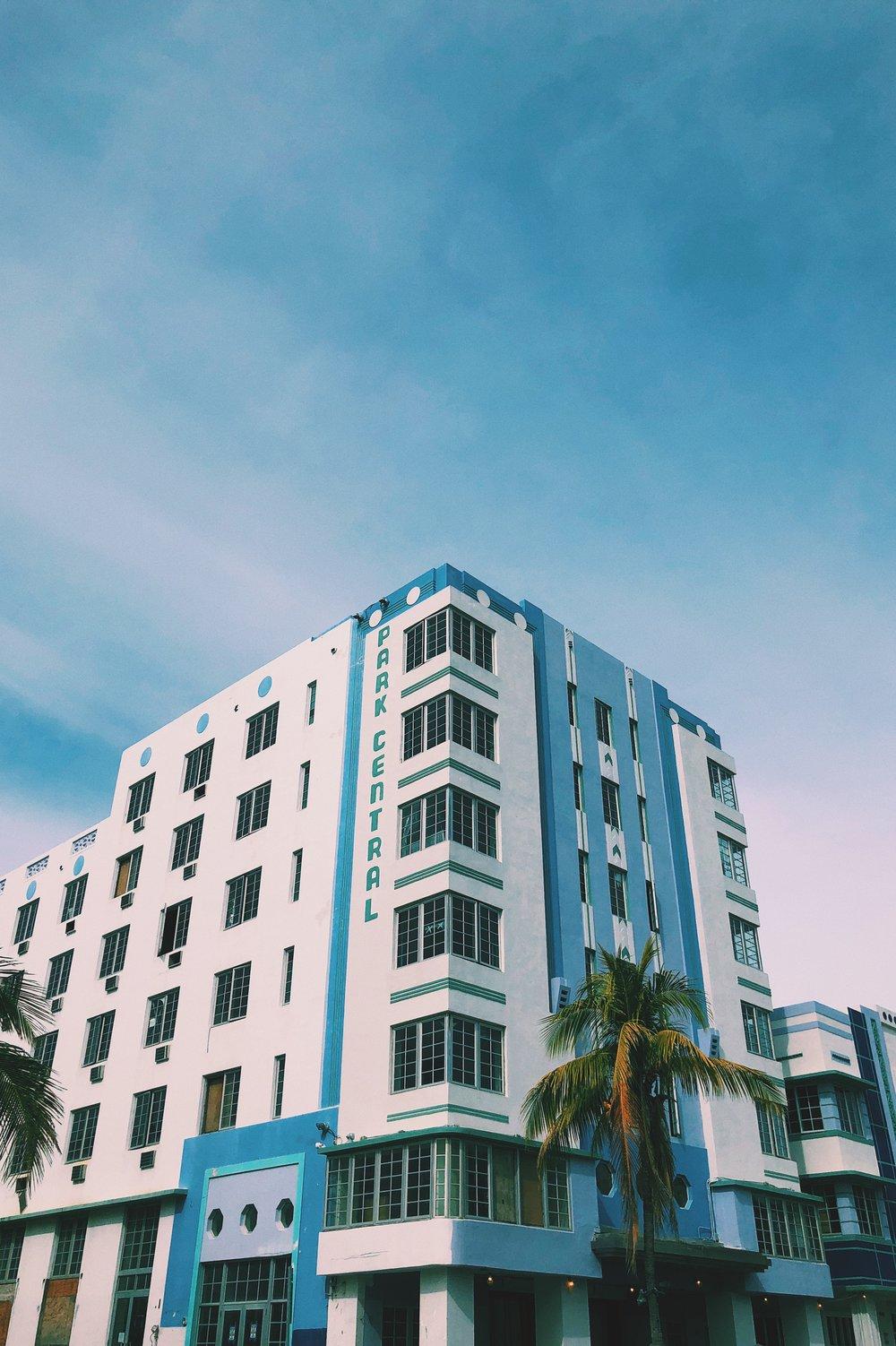 Miami - Building photography