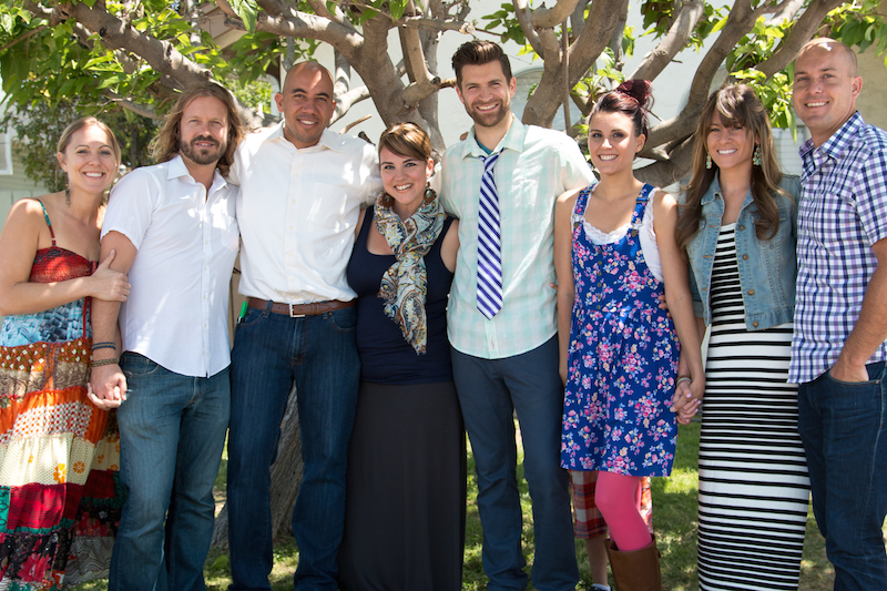 Launch Team & Fam: Sarah, Eric, Mathew, Jessica, Colby, Kate, Jessica, James