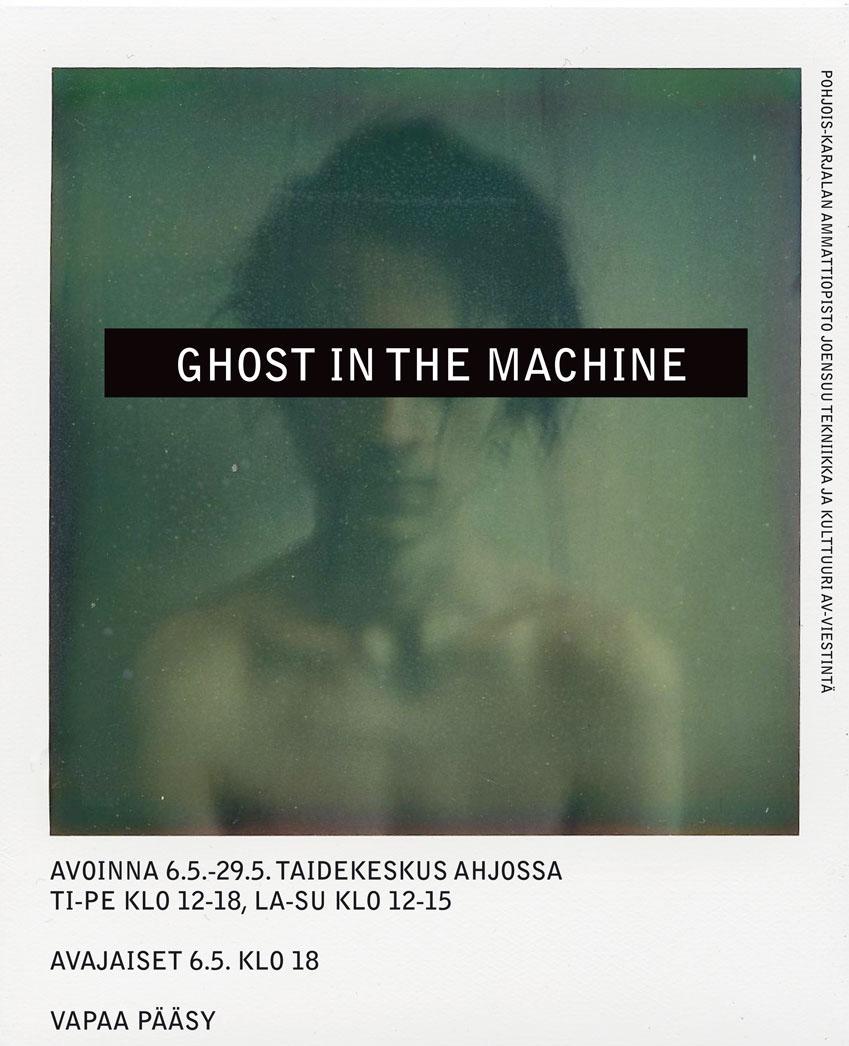 GHOST IN THE MACHINE    Taru Turusen valokuvanäyttely esillä 6.5.29.5.2011 taidekeskus Ahjossa, avoinna tip 12-18 ja la-su 12-15. Sinne kanssa. Menee kätevästi samaan kävelyretkeen tuon Taitokorttelin näyttelyn kanssa.