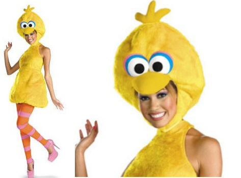 1 sexy big bird possibly the dumbest and least sexy costume possible this halloween season