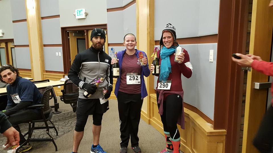 I placed in a New Years Eve race, feel like I can do anything I set my mind to!
