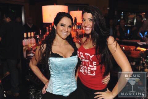 With my friend bartending the night of the accident.