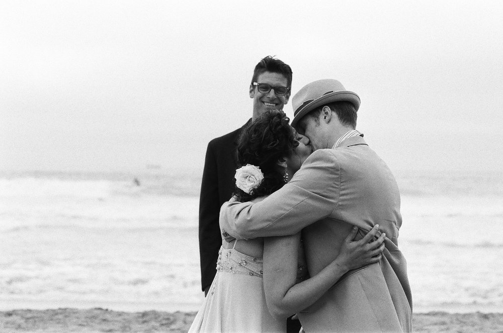 We were married on SF Ocean Beach on July 27, 2013.