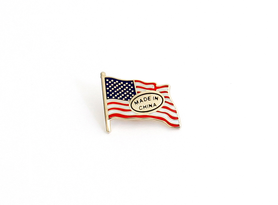God Bless America.  The Dependence Pin by Derek Brahney