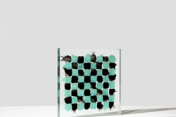 Fashion and art come together to raise money for the World Chess Hall of Fame at their first Queen's Gala. Dustin Yellin and GREY AREA got involved the year with a surreal chess board for the Paddle8 auction.   To participate, check out our board but make it quick bidding ends this Friday.    http://bit.ly/15FtLKe