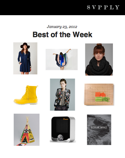 OUR ABRAXAS REX KIMONO FEATURED ON SVPPLY'S BEST OF THE WEEK FOR JANUARY 23RD 2012