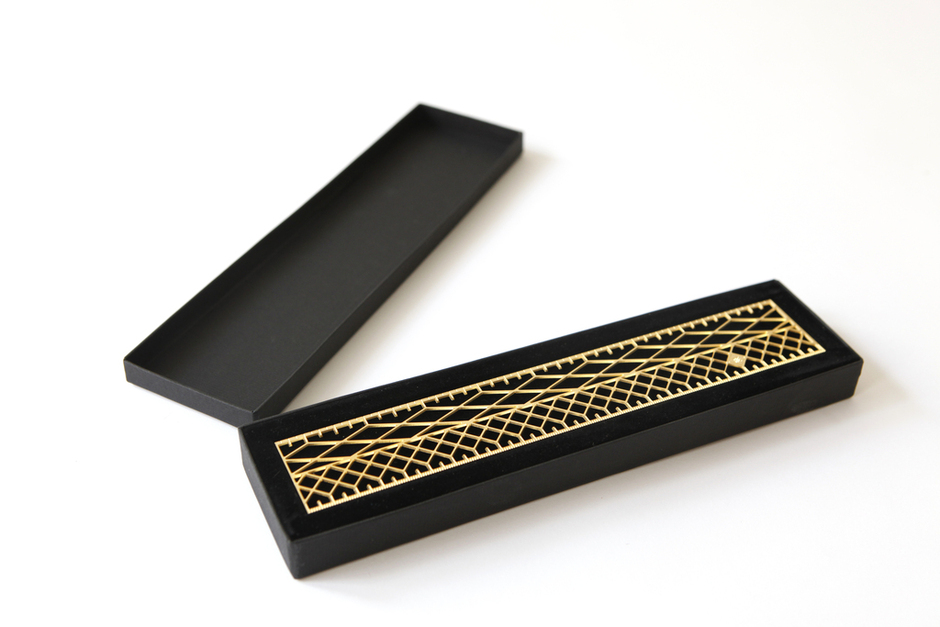 PAPERMAG is  obsessed  with our new showroom, one of their favorites is Assaf Eshet's   Golden Ruler