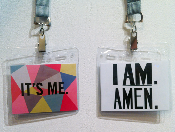 Take a look at ARTINFO's article on our artist-designed VIP badges for Armory Week.