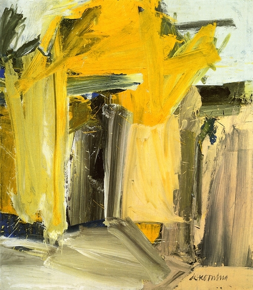 Door to the River, Willem de Kooning Posted by ryandonato