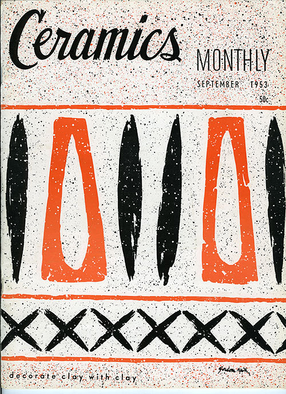A VINTAGE CERAMICS MAGAZINE from 1953 Lots of ceramics at GREY AREA. See YASSI MAZANDI's here