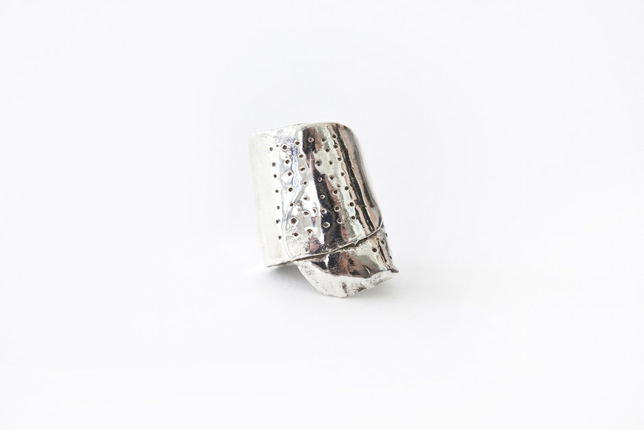 Patch Things up this Valentine's Day with Sterling Silver  BAND-AID RINGS  by  MICHELLE LOPEZ