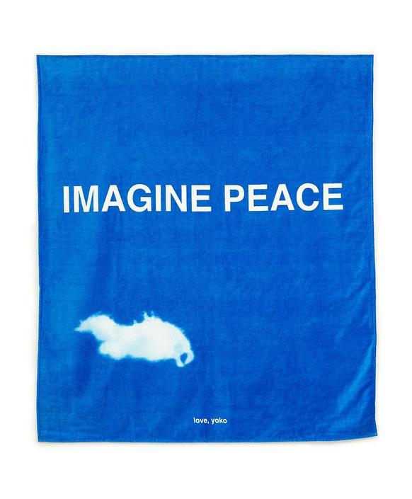 Dry off from this rainy day with a YOKO ONO TOWEL, available at GREY AREA