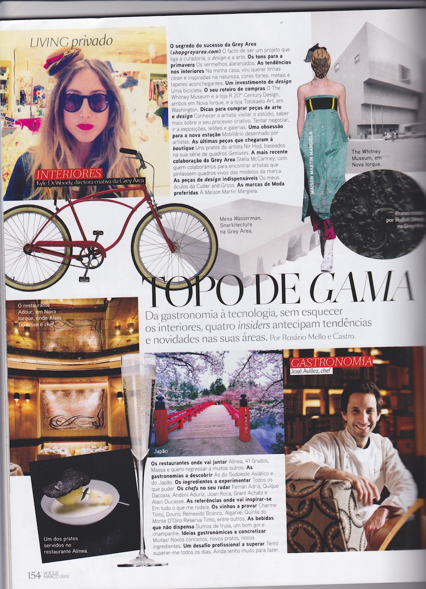 """TOP SCALE""   Kyle DeWoody /  GREY AREA  /  SNARKITECTURE  featured in  Vogue  Portugal"