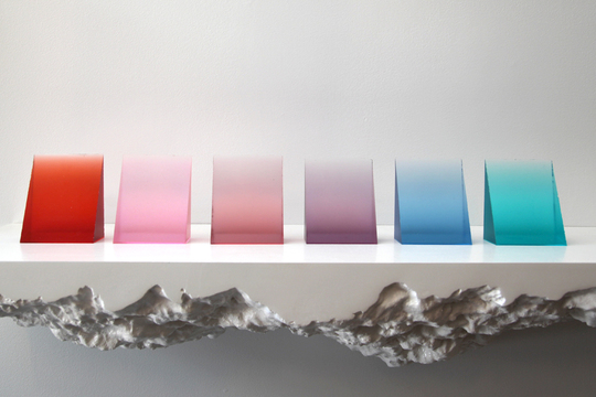 Craving a pop of color for your apartment? Look no further than Eric Cahan's  Color Samples!  These bright hues have been developed specifically for GREY AREA, and are now available at the Guggenheim   Store and on  our website .