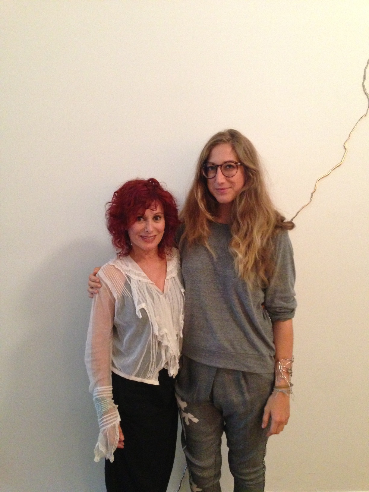 Cheryl Ekstrom stops by Fort Grey for a visit and tour of our new Fort Greene Space