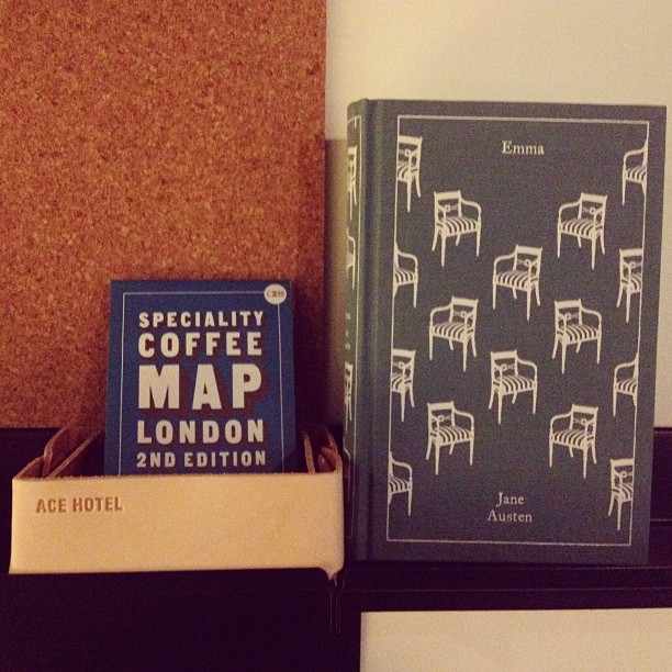 Signs you're staying at an Ace Hotel. Excited to try out the new London spot. @acehotel