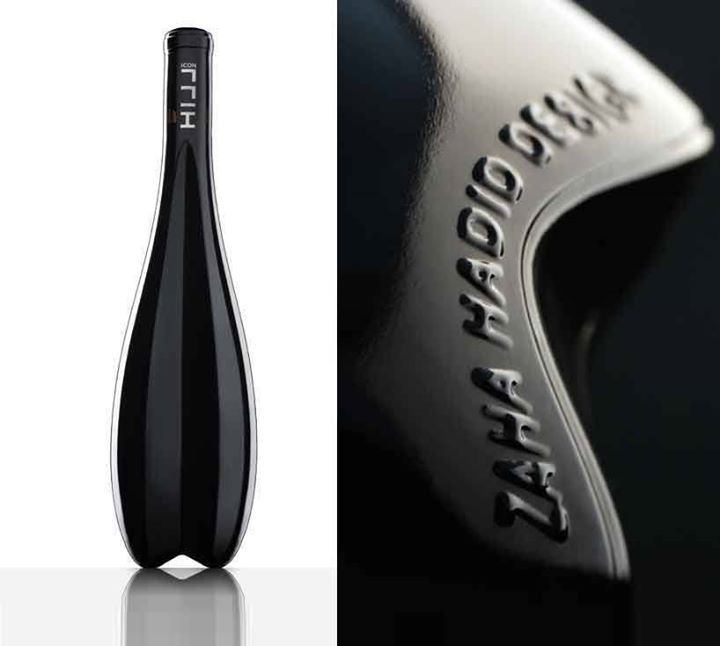 Following on the heels of Scott Campbell's release with Wild Horse Winery, Zaha Hadid delivers an ingeniously concave bottle of red with renowned Australian winery, Weingut Leo Hillinger.   via designboom  ttp://bit.ly/19LLKBW