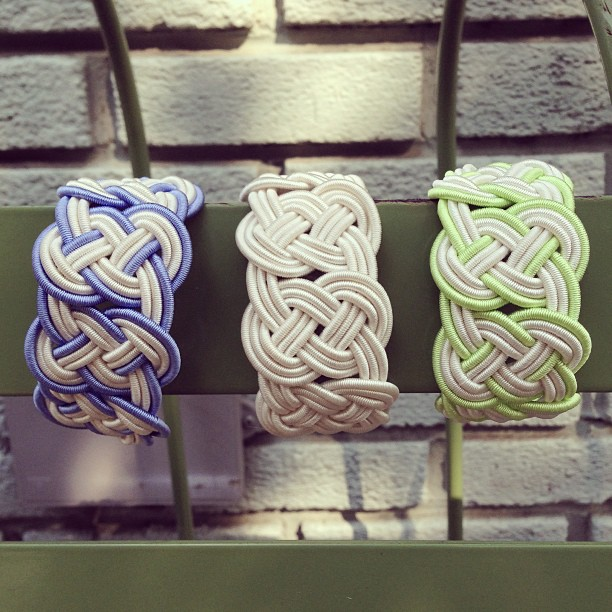 Knotted new arrivals from @serpentsea have us missing the beach on this unseasonably warm fall day #greyfashion