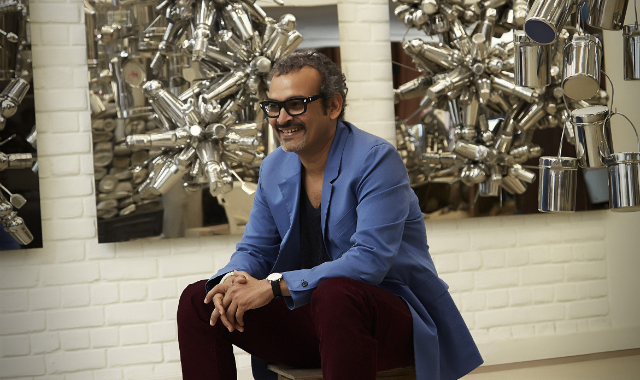 Eating and cooking fuel Subodh Gupta's artistic appetite   via ARTINFO    http://bit.ly/18cFHQt