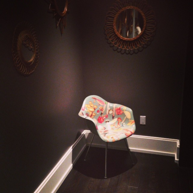 @mrestlund Shroom chair having moment in the Elle Decor show house #Alessandrabranca