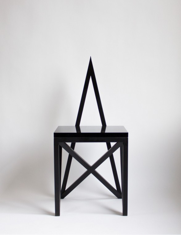 Material Lust 's Pagan Chair on Wmag.com    http://bit.ly/1ajy4fR
