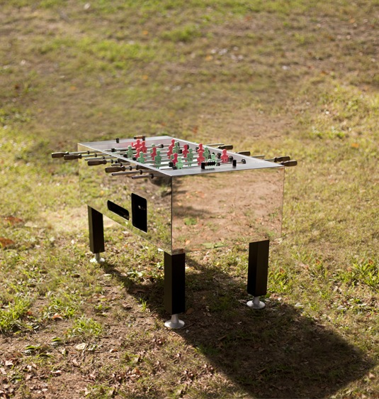 Play on.     Foosball Table  by Oliver Clegg