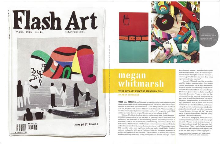 Grey Area artist Megan Whitmarsh featured in Paper Magazine.   Shop her  Sharpies .