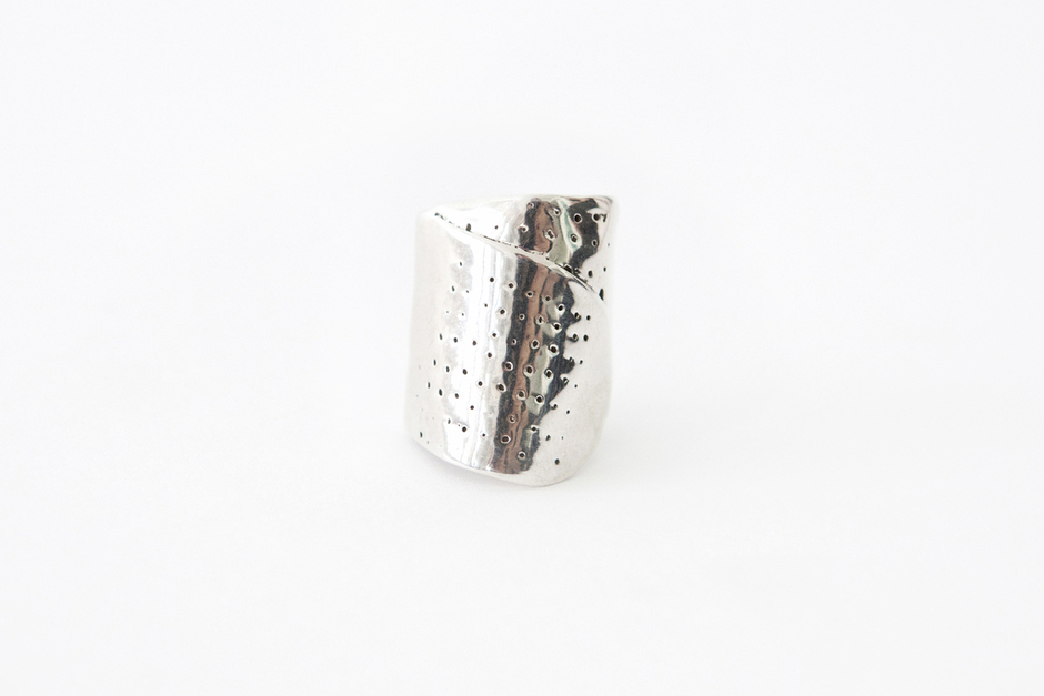 Ouch.     Band-Aid Ring  by Michelle Lopez