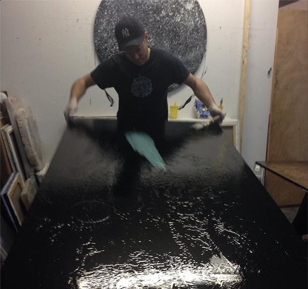 working his magic  #versatable  Matt Jones x Grey Area