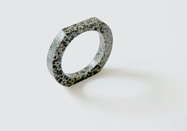 Cold as _____.     Stone Bangles  by Chen Chen and Kai Williams