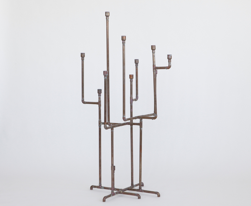 Nice pipes.  Candelabra by Ryan Humphrey