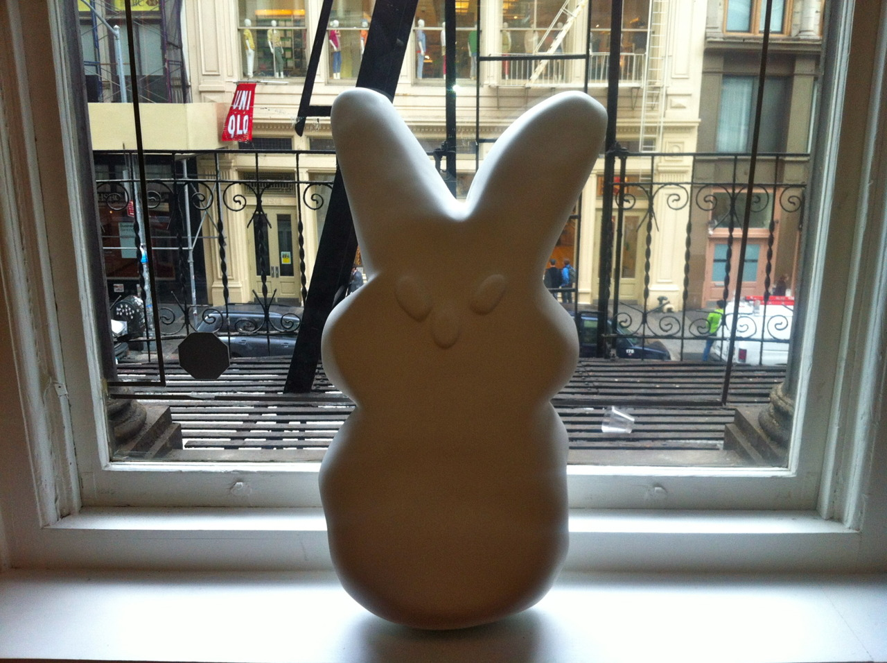 Just arrived : Randy Polumbo's Peep for  GREY AREA 's showroom!