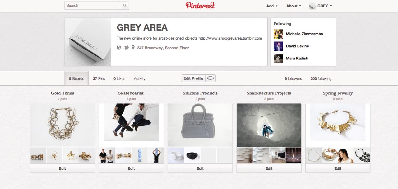 Taking over Pinterest,  follow us !