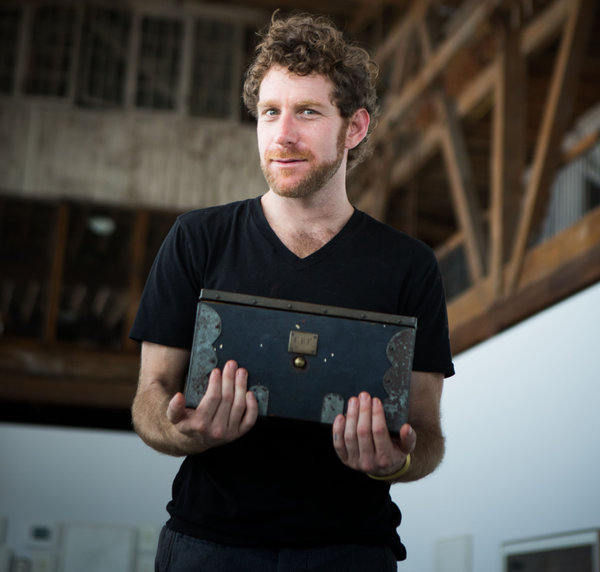 "Artist Dustin Yellin'  s works ""are sort of like antique holographs, marrying the manual and the digital, the past and the future, the material and the imaginary."" Read about Dustin's antique influence, childhood flea market tradition, and his Red Hook Pioneer Works   in  The New York Times     Fashion & Style !"