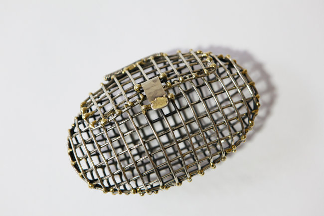 THE NEW YORK TIMES covers our official Showroom Opening during Armory Week, read more here. Their favorite piece is another of our favorites: Anndra Neen's Cage Clutch