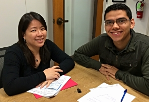 Agnes & Roberto, our friendly lending team!