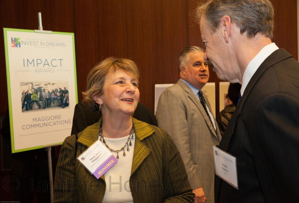 Mary Ann Maggiore & Mark Quinn