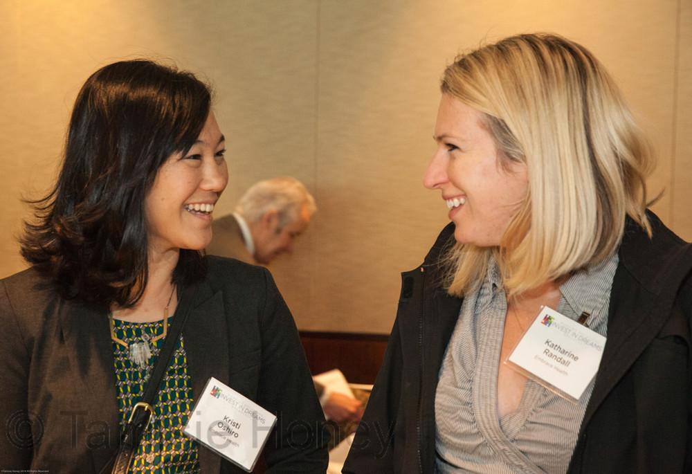 Kristi Oshiro & Katharine Randall