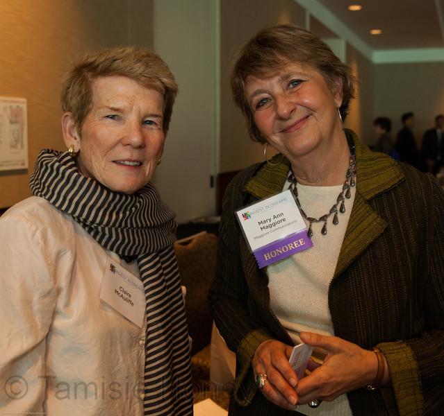 Claire McAuliffe & Mary Ann Maggiore